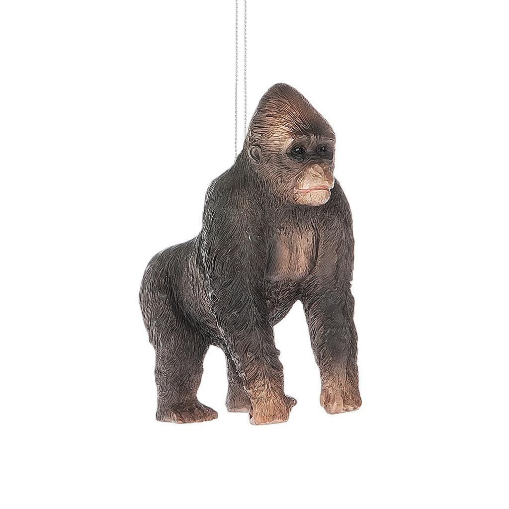 Black Gorilla Ornament