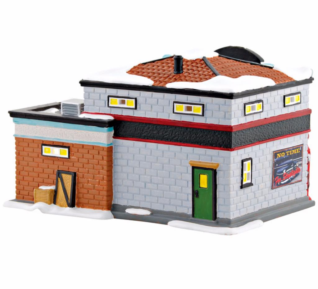 Department 56  - Original Snow Village - Lucky 13 Garage