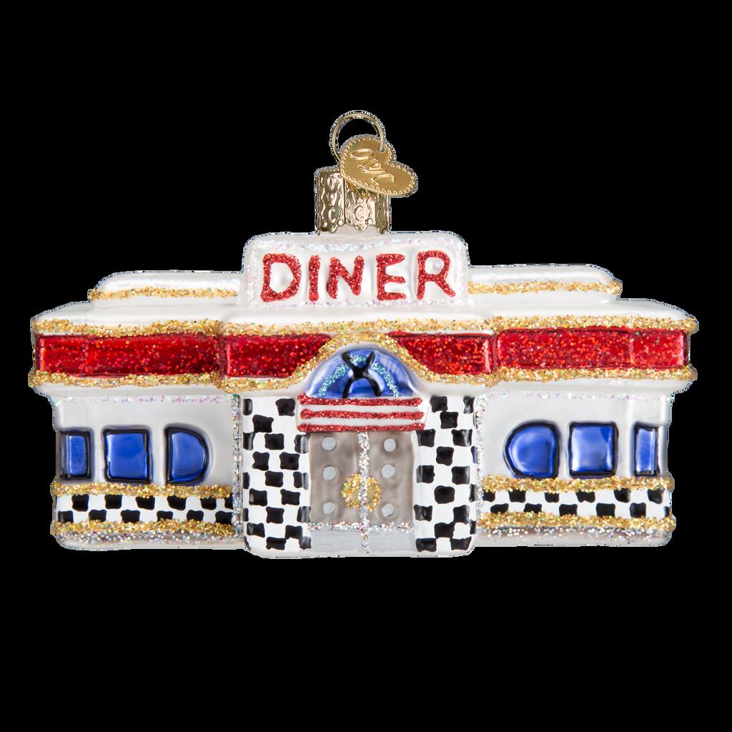Old World Glass - Diner Ornament