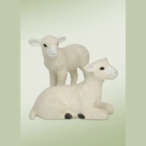 Byers' Choice Lambs Set of 2