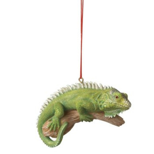 Green Iguana Ornament