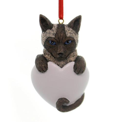 Personalizable -  Siamese Cat Ornament