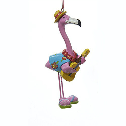 Pink Flamingo Guitar Ornament