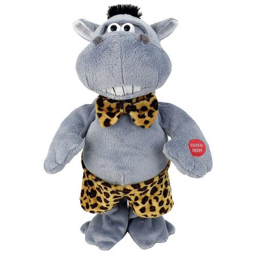 "Chantilly Lane - Hunky Hippo Sings ""Do Ya Think I am Sexy"" Plush"