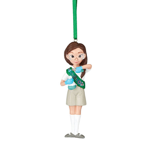 Girl Scouts Junior Scientist Ornament