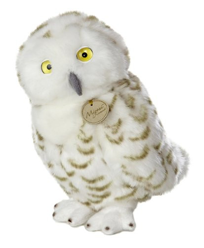 Aurora World Miyoni Snowy Owl Plush Toy 11""