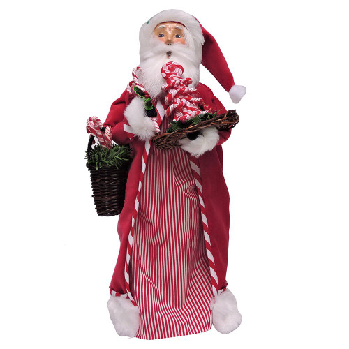 2016 Byers Choice - Candy Cane Santa