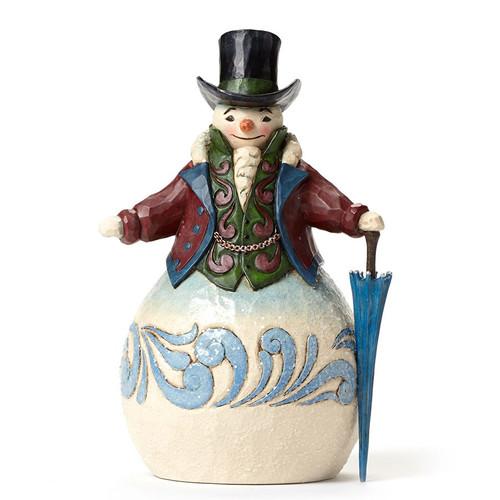 Jim Shore Heartwood Creek -  Victorian Snowman