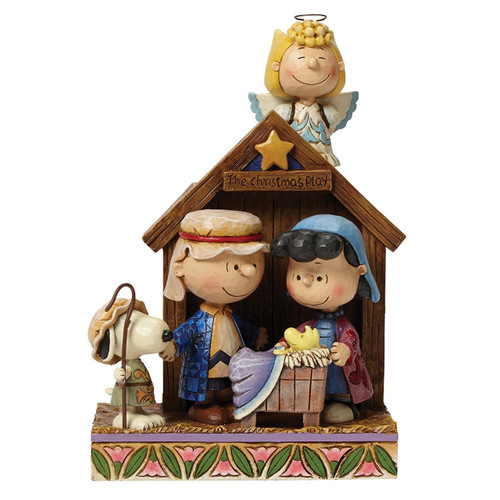Jim Shore- Peanuts - The Christmas Pageant