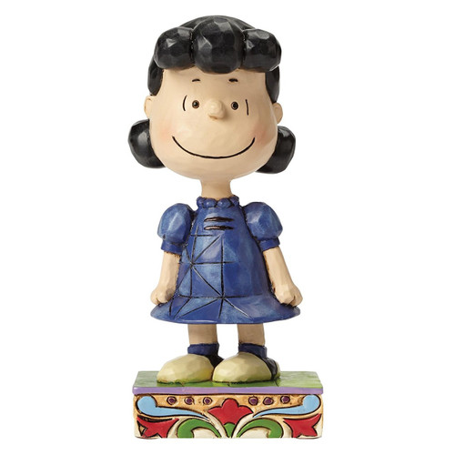 "Jim Shore- Peanuts - ""Little Miss Fussbudget"" Lucy"