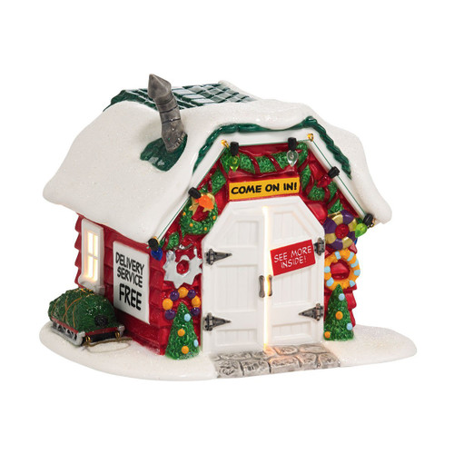 Department 56 - Peanuts Village - Holiday Tree Lot