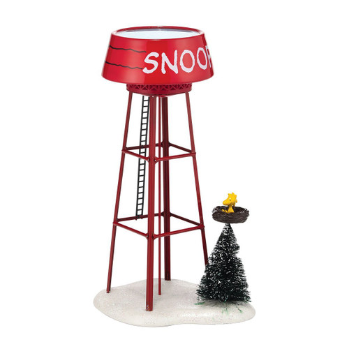 Department 56 - Peanuts Village - Snoopy's Water Tower