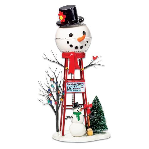 Department 56--Snow Village--Snowman Water Tower