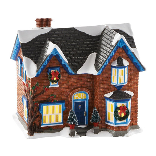 Department 56 -Original Snow Village- Gothic Revival Farm Light House