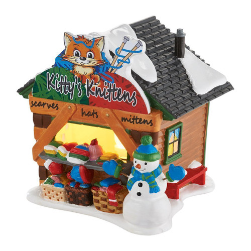 Department 56 - Original Snow Village - Kitty's Knittens