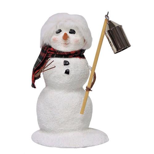 2016 Byers Choice - Snowman with Lantern