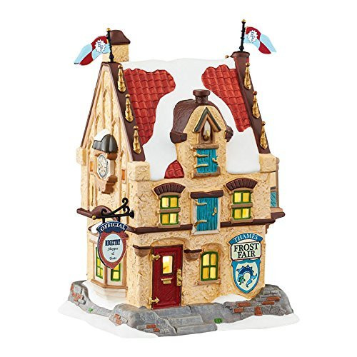 Department 56- Dickens Village - Frost Fair Pavilion