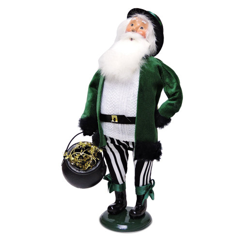 2016 Byers Choice - Irish Santa
