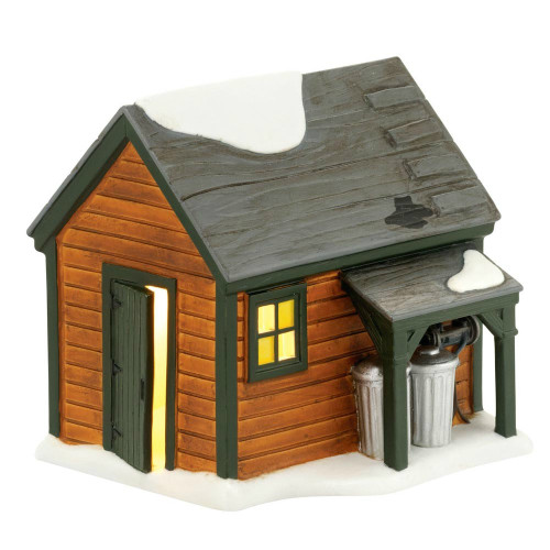 Department 56 - A Christmas Story Village - Ralphie's Backyard Shed