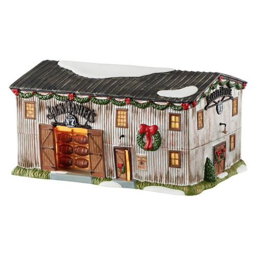 Department 56 - Jack Daniels Village -Jack Daniels' Barrel House No. 7