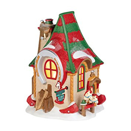 Department 56 - North Pole Series - Hobby Horse Barn