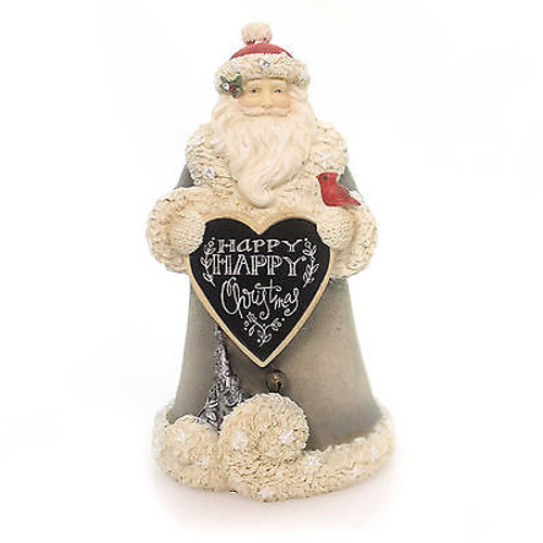 Heart of Christmas - Mini Santa Happy Christmas