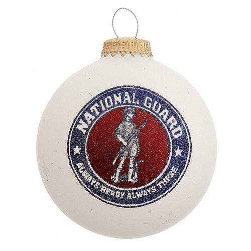 Heart Gifts by Teresa - USA Made National Guard Ornament