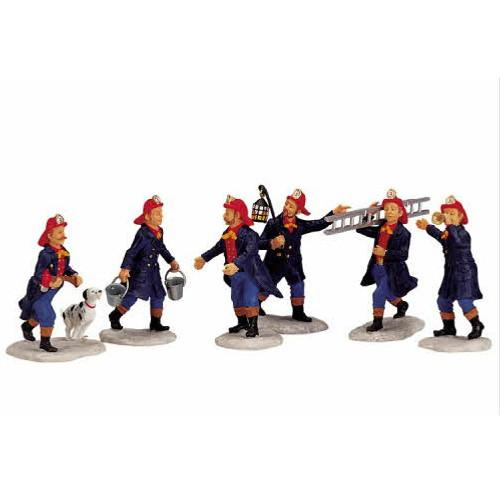 Lemax - Firemen Set of 6