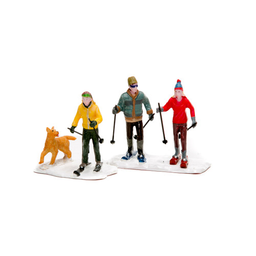 Lemax- Cross Country Friends Set of 2