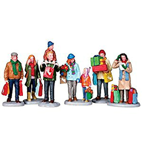 Lemax - Holiday Shoppers Set of 6