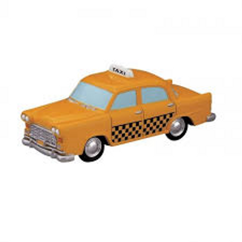 Lemax- Taxi Cab