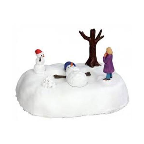 Lemax- Snowman Angel  B/O