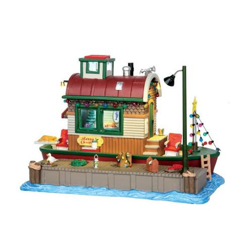 Lemax - Houseboat Celebration