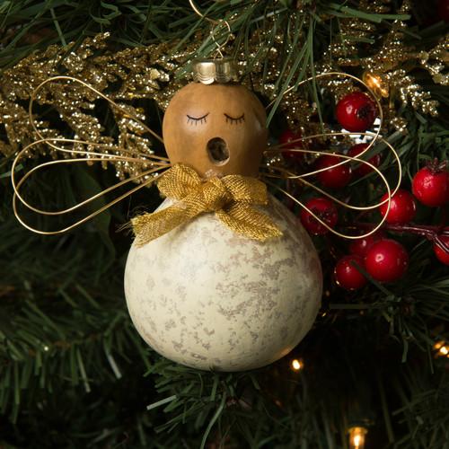 Meadowbrooke Gourds- Julia Angel Ornament