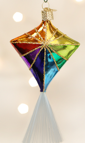 Old World Glass - Kite Ornament