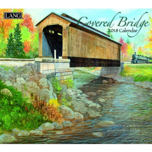 COVERED BRIDGE 2018 WALL CALENDAR