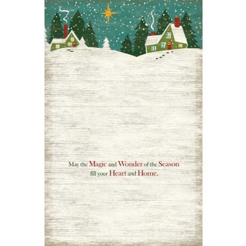 CHRISTMAS HEART BOXED CHRISTMAS CARD