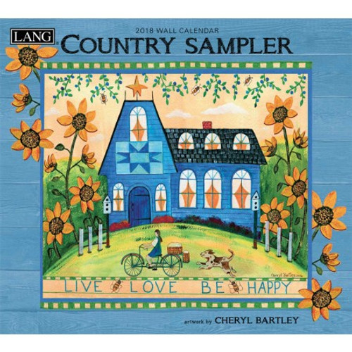 COUNTRY SAMPLE 2018 WALL CALENDAR