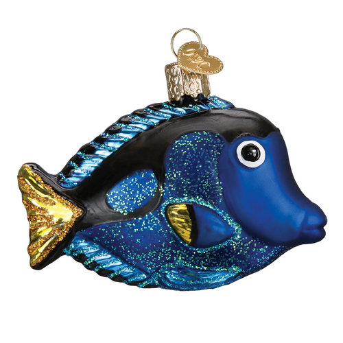 Old World Christmas - Pacific Blue Tang Ornament
