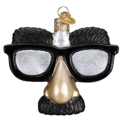 Old World Christmas -Funny Face Glasses Ornament