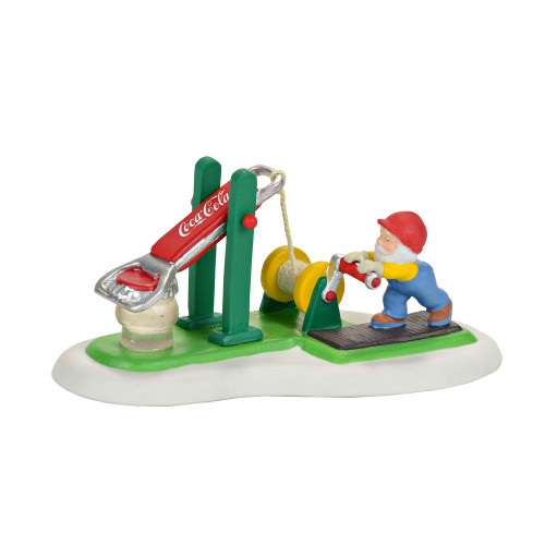 *2017* Department 56 - North Pole Series - Coca Cola Bottle Cap Tester