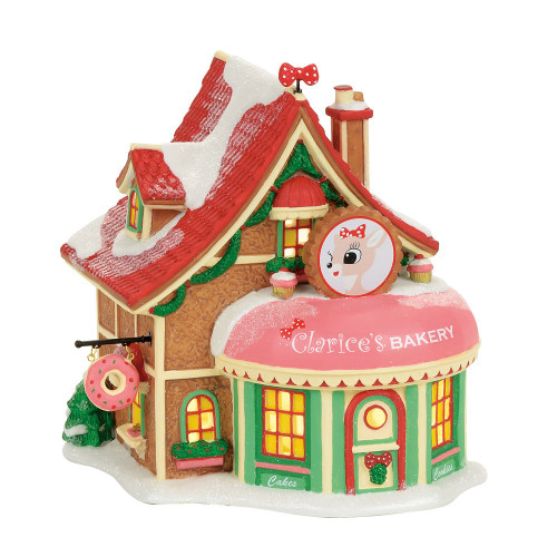*2017*  Department 56 - North Pole Series - Clarice's North Pole Bakery