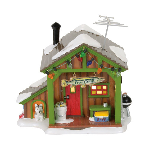 *2017* Department 56 - Snow Village - Home Away From Home Fish Shack