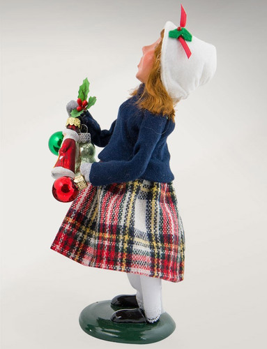 2017 Byers Choice - Ornament Girl