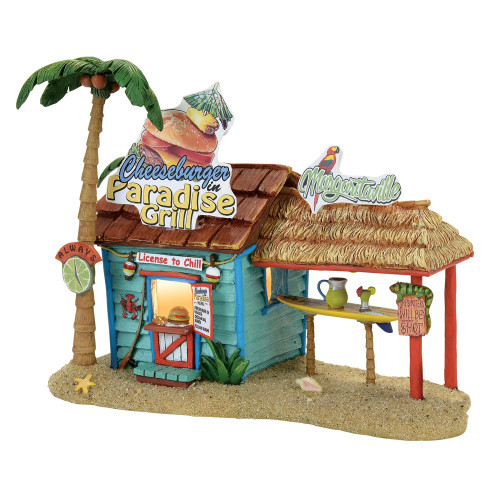 *2017* Department 56- Margaritaville Village- Paradise Grill