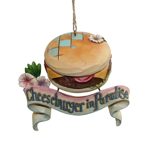 Jim Shore - Heartwood Creek - Cheeseburger in Paradise Ornament