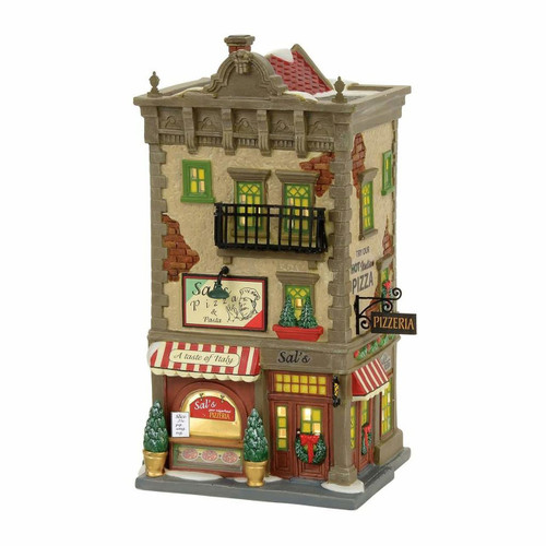 *2017* Department 56 - Christmas in the City - Sal's Pizza & Pasta