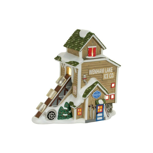 *2017* Department 56 - New England - Wenham Lake Ice Company