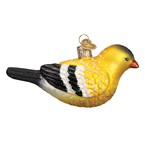 Old World Christmas- American Goldfinch Ornament