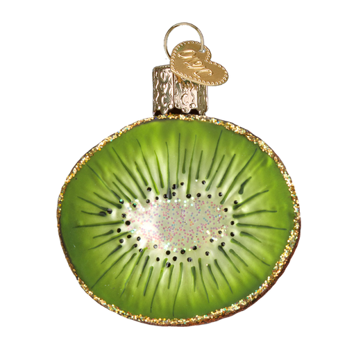 Old World Glass - Kiwi Ornament